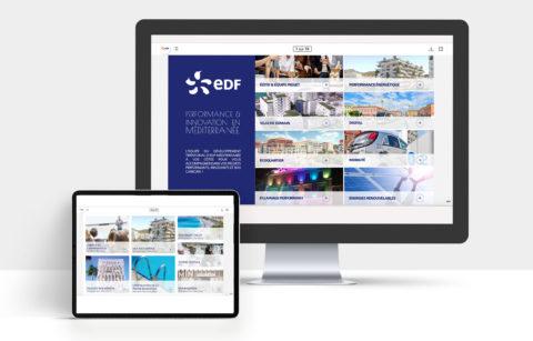 projet digital EDF