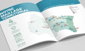 pages intérieurs brochure trandev